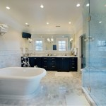 Waterworks Denver for Contemporary Bathroom with Recessed Lighting