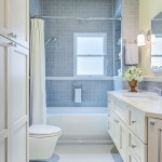Wausau Tile for Transitional Bathroom with White Base Molding