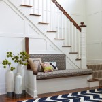 Wayfair Boston for Beach Style Entry with Navy and White Rug