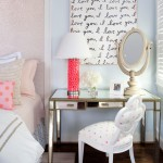 Web Reg for Eclectic Bedroom with Makeup Mirror