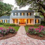 West Cobb Pine Straw for Traditional Exterior with Landscaping