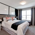Westin Homes for Contemporary Bedroom with Black Wall