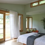 Westin Homes for Contemporary Bedroom with Drapes