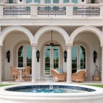 Westin Homes for Mediterranean Exterior with Outdoor Seating