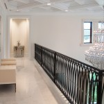 Westin Homes for Mediterranean Hall with Upholstered Bench