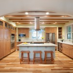 Westlake Residential for Traditional Kitchen with Two Toned Wood Floor