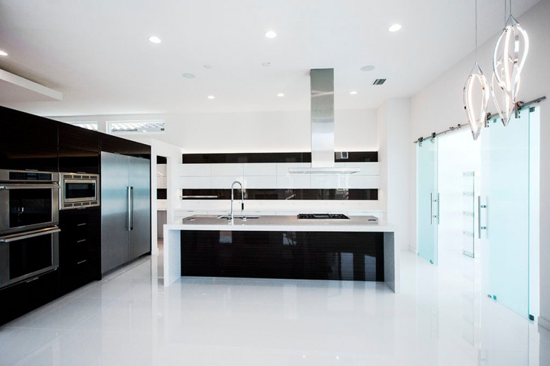 Westshore Yacht Club for Contemporary Kitchen with White