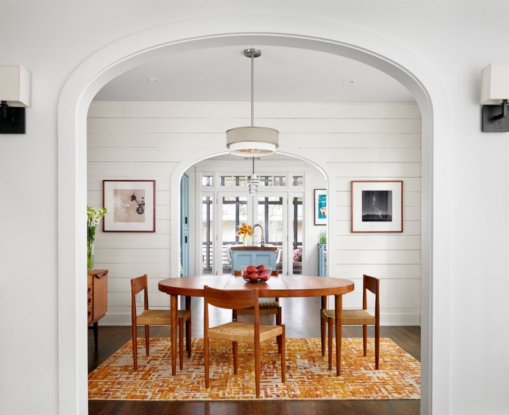 What is Shiplap for Farmhouse Dining Room with Tongue and Groove Walls