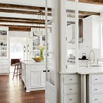 Whites Plumbing for Rustic Kitchen with French Doors