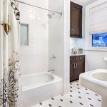 Whites Plumbing for Transitional Bathroom with Beadboard