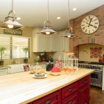 Wholesale Builders Supply for Contemporary Kitchen with Wood Flooring