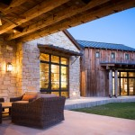 Wickenburg Ranch for Rustic Patio with Stone Siding