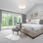 Winchester Ma Real Estate for Traditional Bedroom with Wingback Headboard