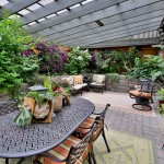 Windermere Portland for Traditional Patio with Purple Flowers