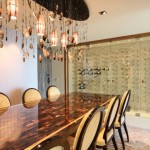 Wine Cellar Los Gatos for Modern Wine Cellar with Large Dining Table