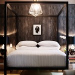 Wolf Gordon Wallcovering for Contemporary Bedroom with Rue Magazine