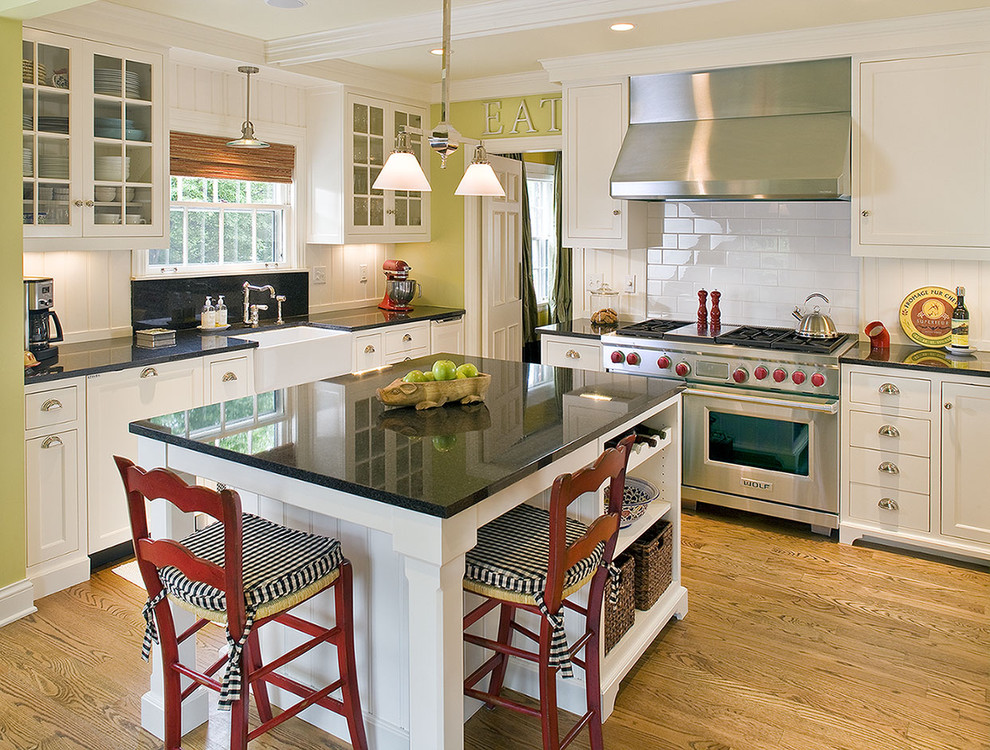 Woodshop Ideas for Traditional Kitchen with Modern Farmhouse Kitchen