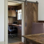 Woodworkers Hardware for Rustic Home Office with Wood Grain