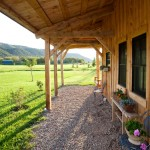 Woody Creek Colorado for Farmhouse Porch with Iron Chairs