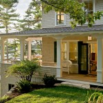 Wrap Around Porch House Plans for Beach Style Porch with Maine