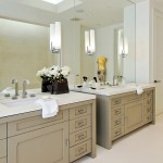 Ws Bath Collections for Contemporary Bathroom with Beige Painted Wood