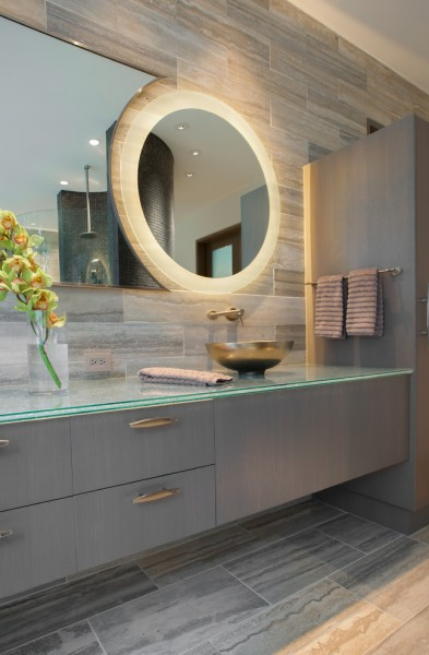 Ws Bath Collections for Contemporary Bathroom with Floating Vanity