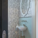 Ws Bath Collections for Transitional Powder Room with Sliding Door
