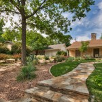 Xeriscape for Traditional Landscape with Outdoor Lighting