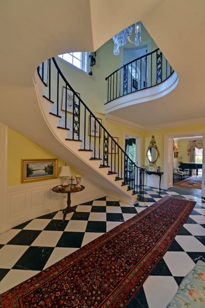 Yavapai Humane Society for Traditional Staircase with Black Banks