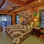 Ymca Town Lake for Rustic Bedroom with Wood Ceiling