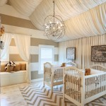 Yosemite Home Decor for Traditional Nursery with Beige Ceiling Curtains