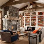 Youngs Furniture for Rustic Living Room with Mountain Contemporary