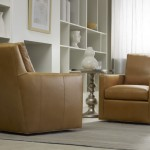 Youngs Furniture for Transitional Living Room with Tan Leather
