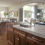 Zack White Leather for Transitional Kitchen with White Wall