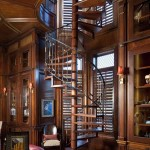 Zaza Hotel Dallas for Traditional Staircase with Glass Cabinets