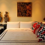 Zillow La Jolla for Contemporary Bedroom with White Bedding