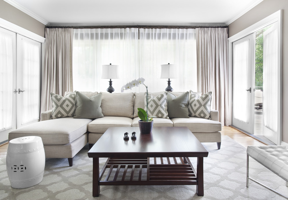 Zillow La Jolla for Traditional Living Room with Decorative Pillows