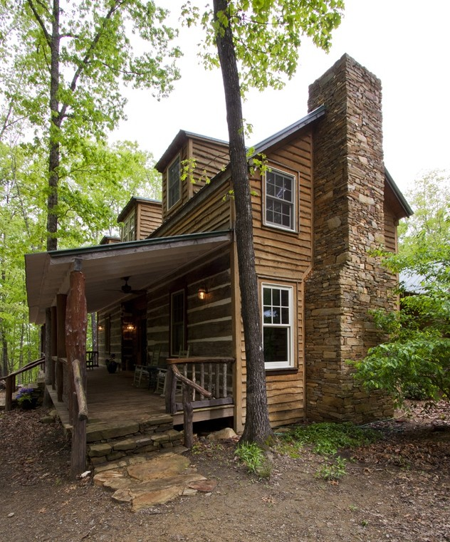 Zook Cabins for Rustic Porch with Rustic