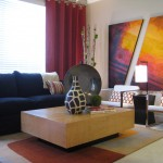 Zuomod for Contemporary Living Room with Orange