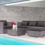 Zuomod for Eclectic Patio with Outdoor Tables